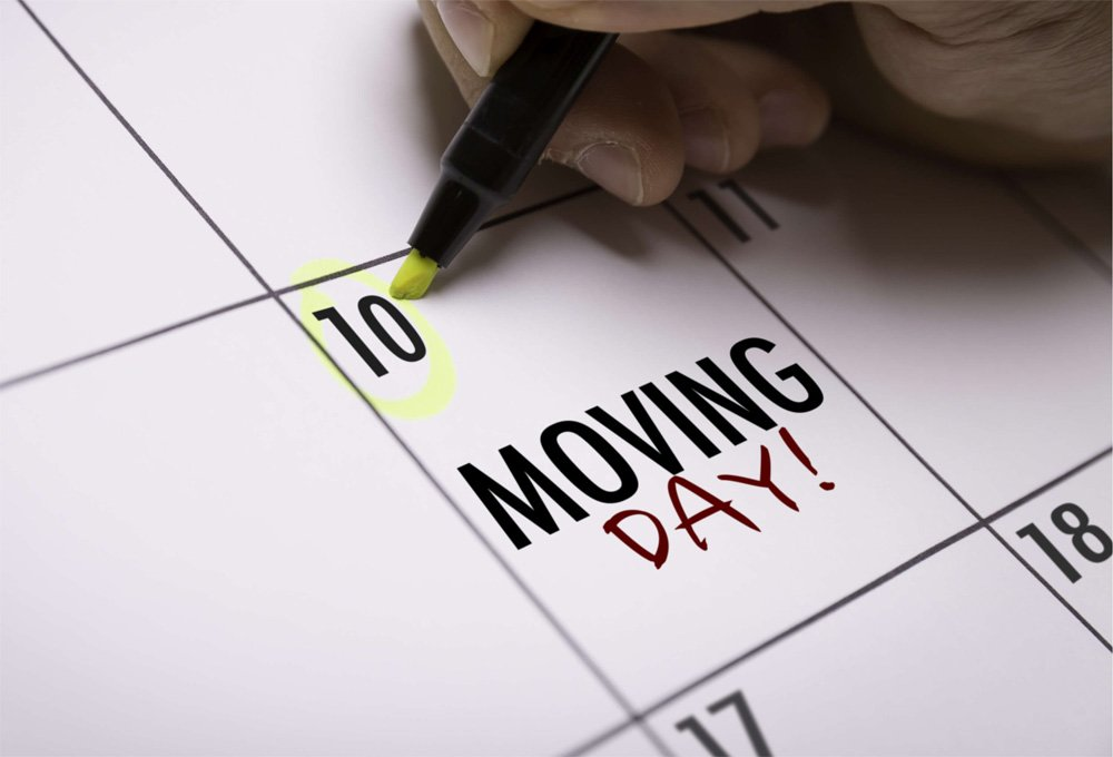 Lux Moves moving day checklist